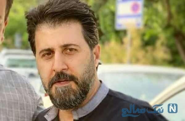 هومن حاج عبداللهی بازیگر سریال پایتخت به سوگ پدرش نشست