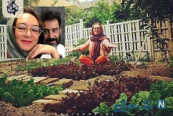خانه سحر ولدبیگی و همسرش