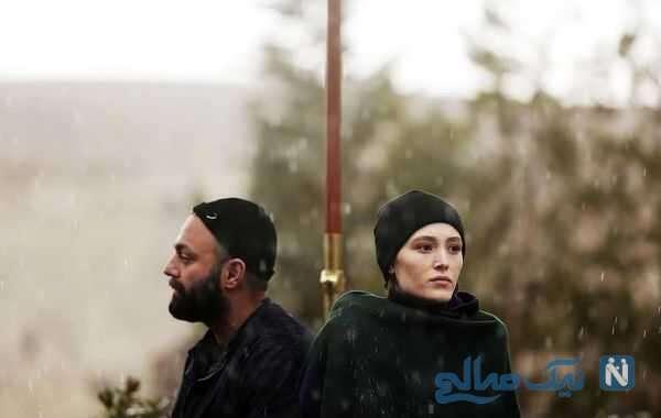 تصاویر فرشته حسینی و صابر ابر