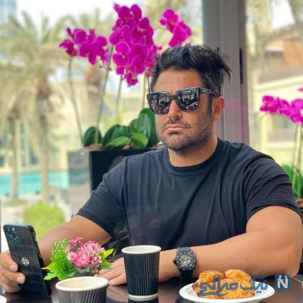 محمدرضا گلزار در کافه دنج