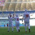 پیروزی پرگل بانوان فوتبالیست ایران مقابل بنگلادش