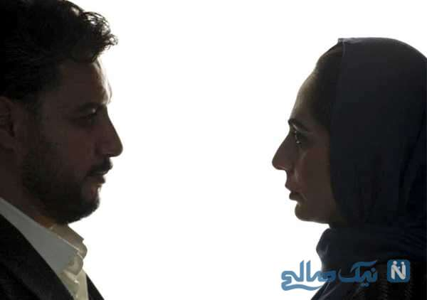 تصویری از جواد عزتی و رعنا آزادی ور