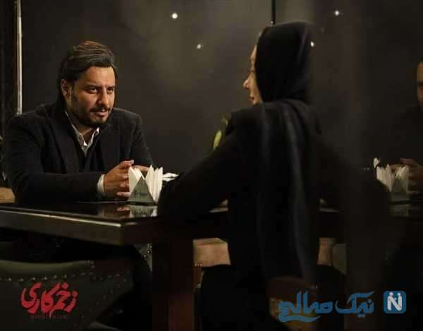 تصویری از جواد عزتی در زخم کاری