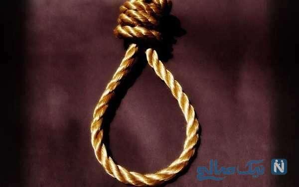 پاره شدن طناب دار از گردن قاتل کرمانی