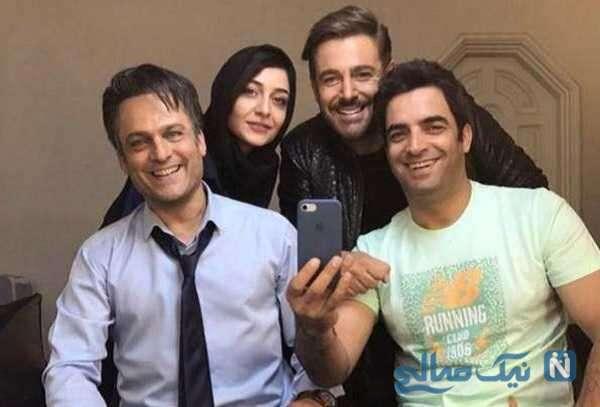 محمدرضا گلزار در پشت صحنه عاشقانه 2