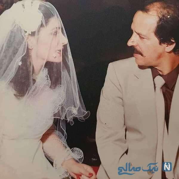 نامزدی مهوش وقاری و همسرش