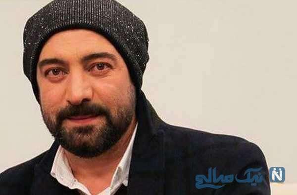 تبریک تولد عاشقانه مجید صالحی بازیگر مشهور برای همسرش