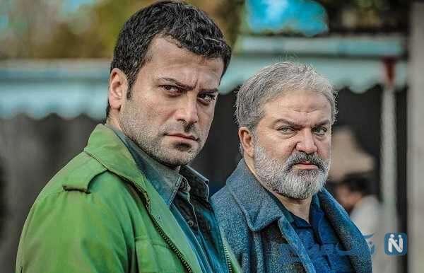 عکس سلفی جالب بازیگران مرد سریال افرا در جنگل های لاهیجان