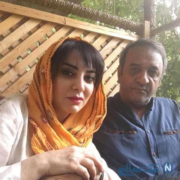 عاشقانه های علی اوسیوند و همسرش