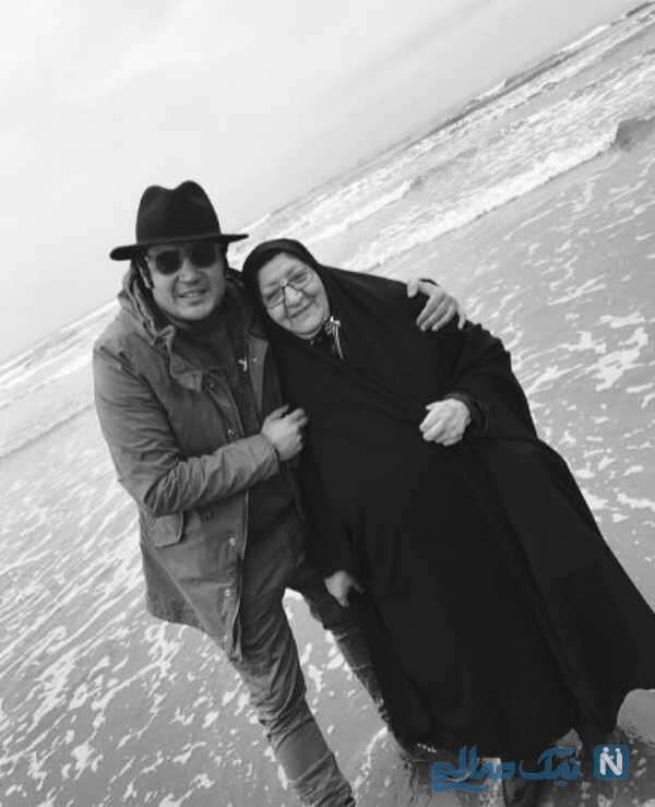 درگذشت مادر مهران رنجبر