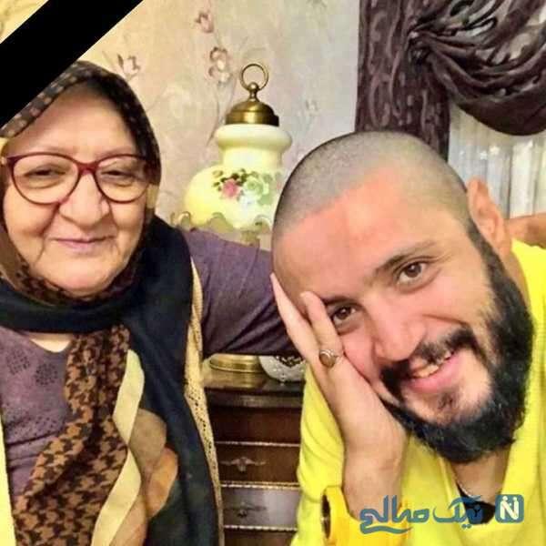 مهران رنجبر و مادرش