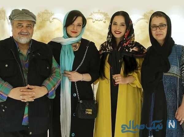 خانواده ملیکا شریفی نیا بازیگر ایرانی