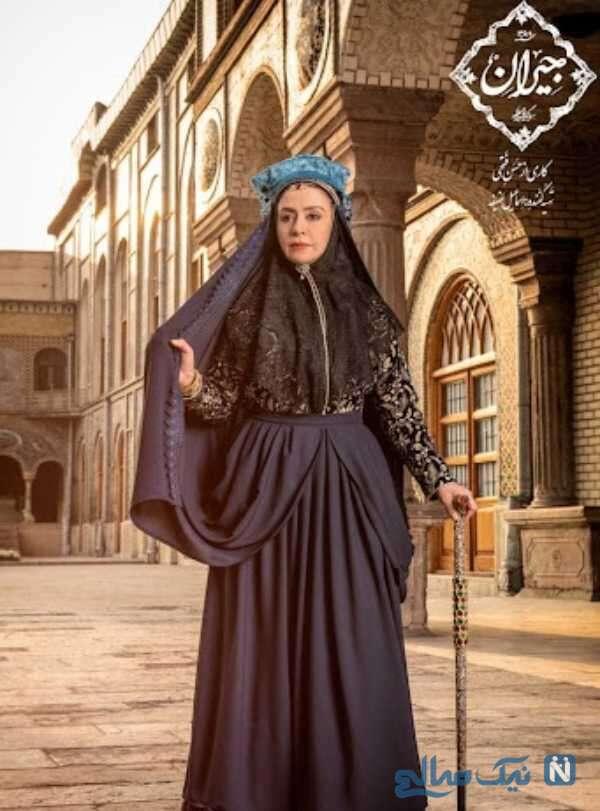 تصویری از مریلا زارعی در جیران