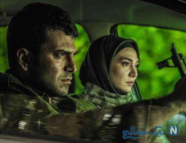 تصویری از مینا وحید بازیگر سریال افرا