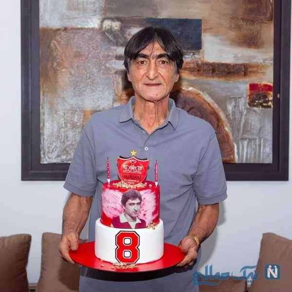 جشن تولد ناصر محمدخانی