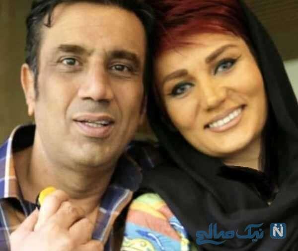 عکس از نصرالله رادش و همسر جدیدش