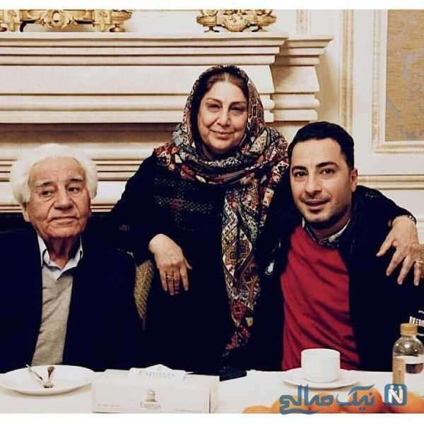 پدر و مادر نوید محمدزاده هنرپیشه معروف