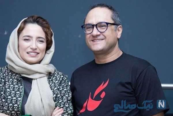 عکس جالب نگار جواهریان و همسرش