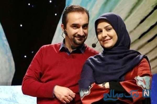 زینب زارع و شوهرش