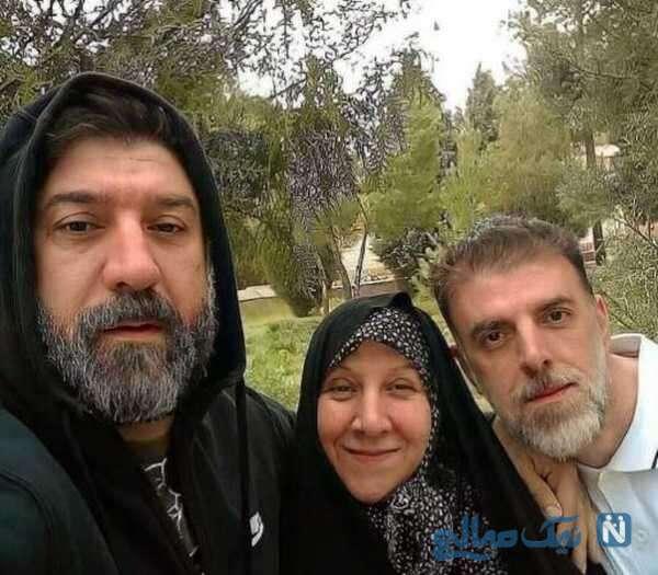 مادر و برادر علی انصاریان