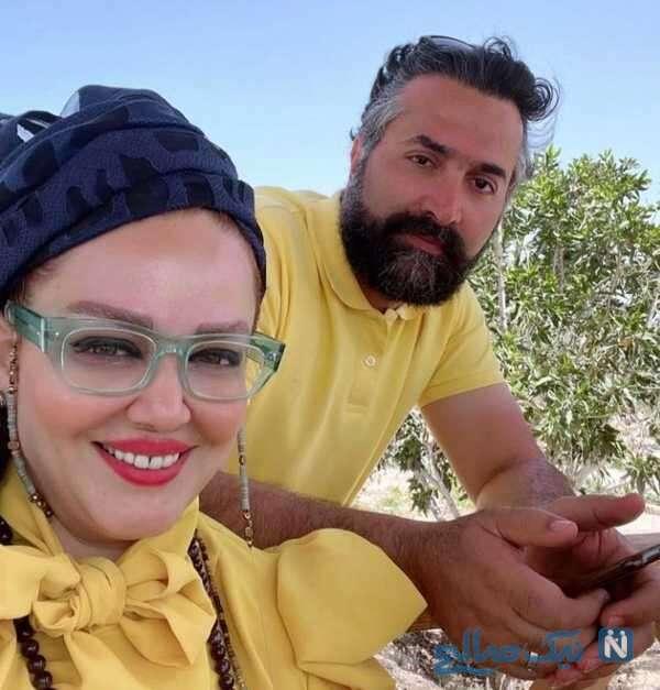 همسر بازیگر ایرانی بهاره رهنما