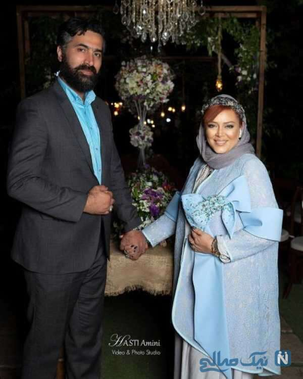 تصویری از بهاره رهنما و همسرش
