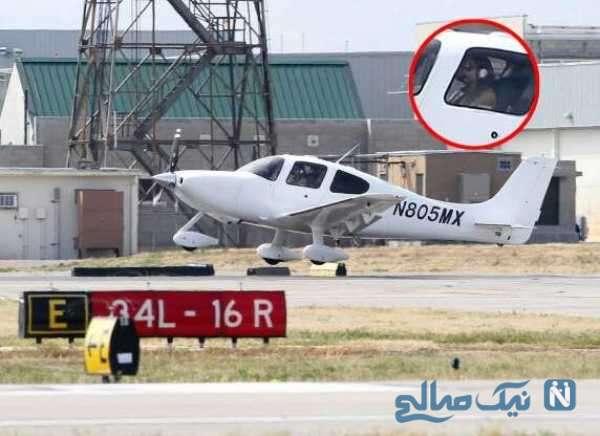 هواپیمای لاکچری آنجلینا جولی
