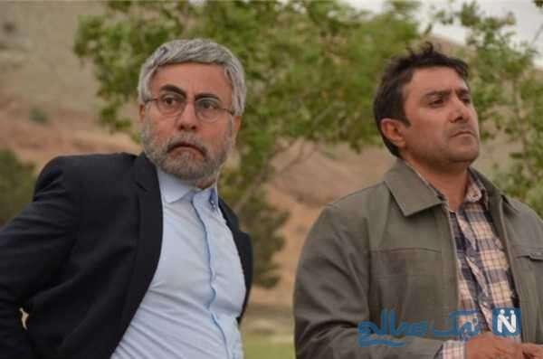 رضا کریمی بازیگر سریال تلویزیونی گسل