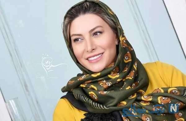 عکس احساسی و عاشقانه فریبا نادری بازیگر معروف با همسرش