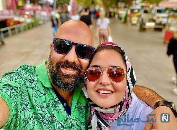 عاشقانه های نرگس محمدی و علی اوجی