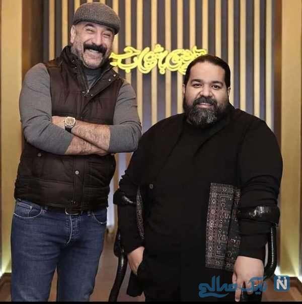 علی انصاریان و رضا صادقی