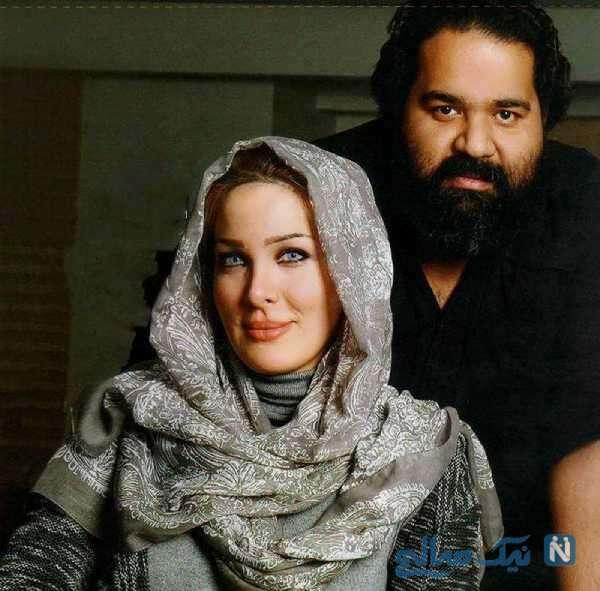 عاشقانه رضا صادقی و همسرش