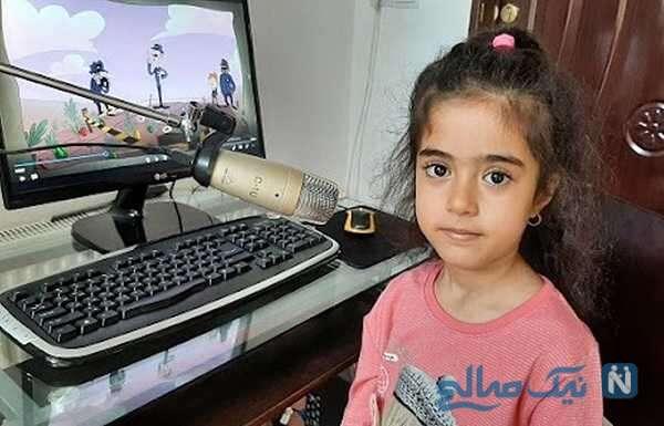 رونیکا رجبی کودک ۶ ساله زنجانی مسلط به ۲ زبان که ۲۵ شاگرد دارد