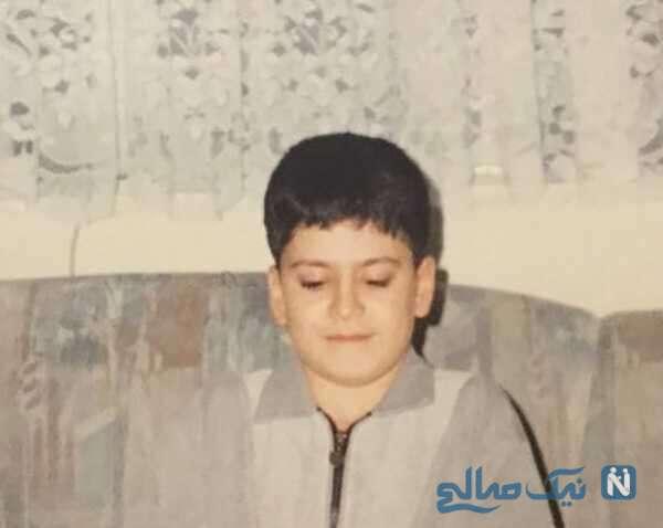 تصویری از کودکی روزبه حصاری