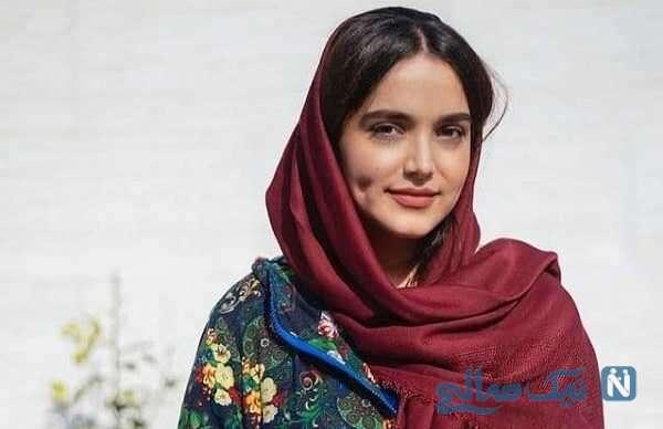 تصاویر جالب از ظاهر متفاوت سارا باقری بازیگر سریال افرا در نقش مائده