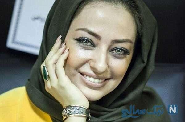 شهرزاد کمال زاده و نفیسه روشن بازیگر زن ایرانی در پیاده روی اربعین امسال