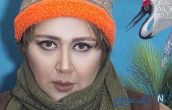 شوکه شدن شهره لرستانی بازیگر سینما و تلویزیون در برنامه شب آهنگی از ترس