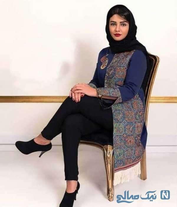 تصویری از لباس سیما خصرآبادی