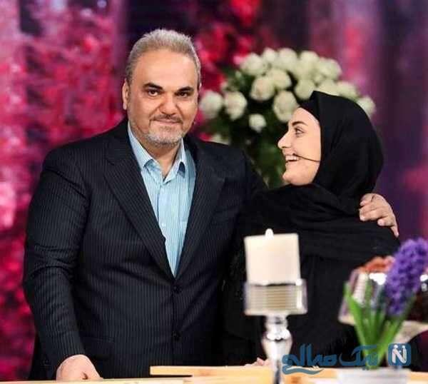 گزارشگر معروف و دخترش