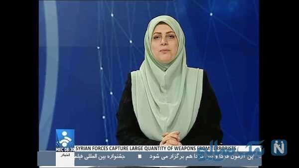 تصویری از سودابه حسنی دخت مجری شبکه خبر