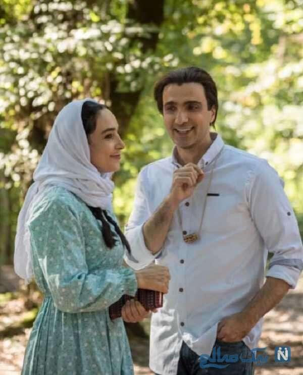 محمدرضا فروتن در فیلم دختری با لباس ارغوانی