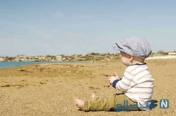 ویدئوی حیرت انگیز از کودک نشسته در دیگ روغن جوشان!