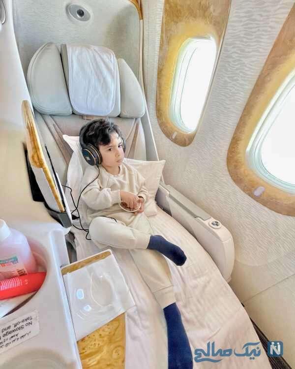 هواپیمای فوق لاکچری دوران قوچان نژاد