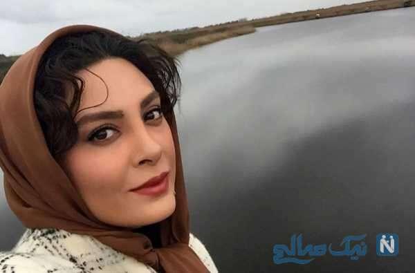 عکس حدیثه تهرانی با شوهرش کیان مقدم در جاده ابریشم