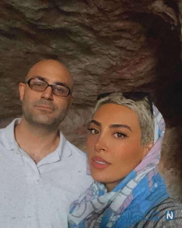 حدیثه تهرانی و همسرش در جاده ابریشم