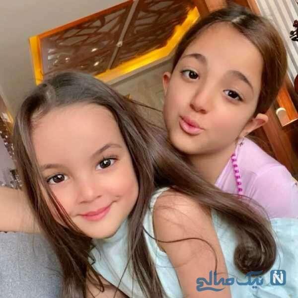 عکس جدید دختران رضا صادقی