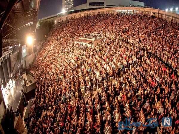 کنسرت های خارج از کشور