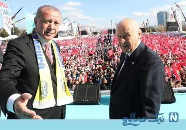 تصویری از رئیس جمهور ترکیه