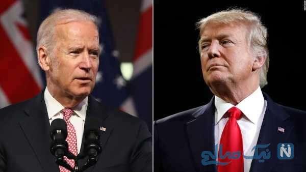 دونالد ترامپ و جو بایدن رئیس جمهور آمریکا