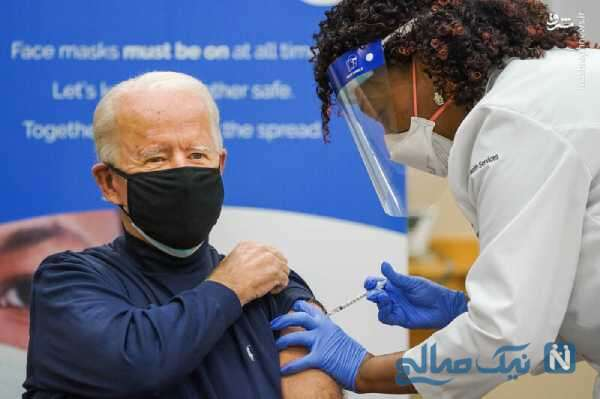 تزریق دوز سوم واکسن کرونا به جو بایدن رئیس جمهور آمریکا
